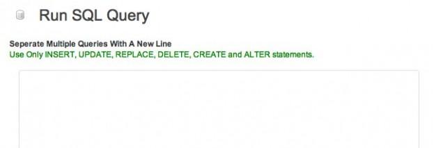 SQL Queryも実行可能