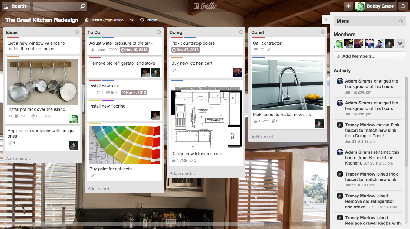 Trello is the free, flexible, and visual way to organize anything with anyone.